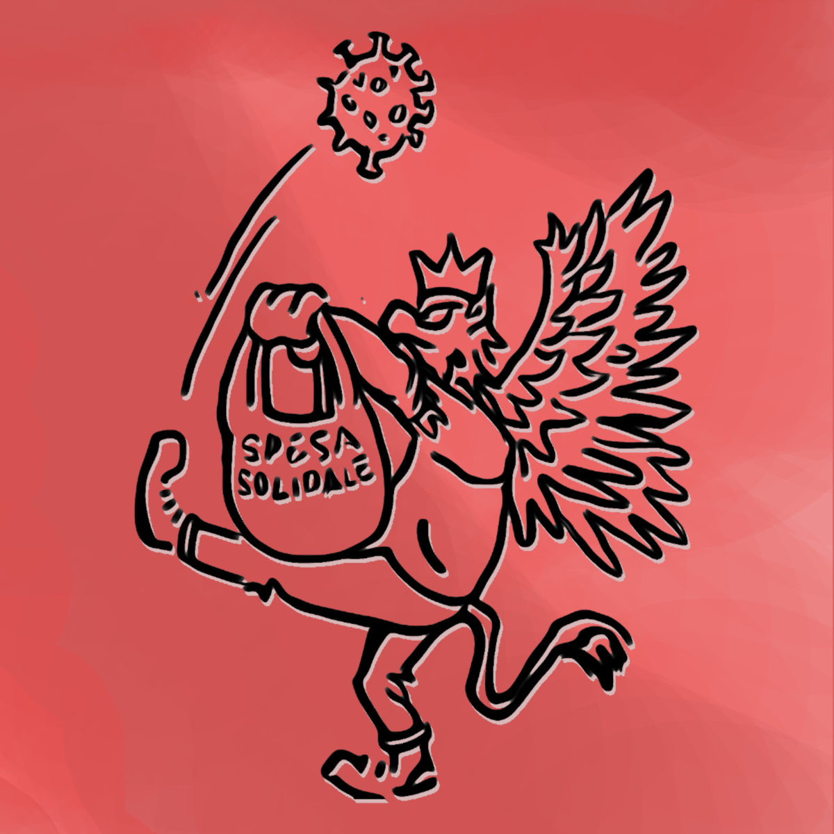 """Logo del Comitato """"Perugia Solidale"""""""